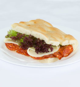 Salame piccante, Provolone Scharfer Salami, Käse