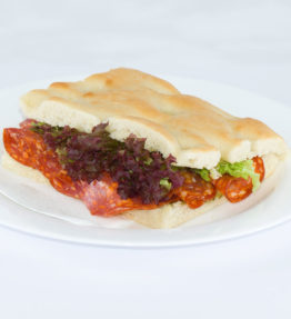 Salame piccante, Scharfer Salami