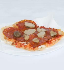 Diavola (Mozzarella, pomodoro, salame piccante)